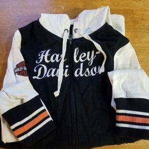 Harley-Davidson zip up hoodie